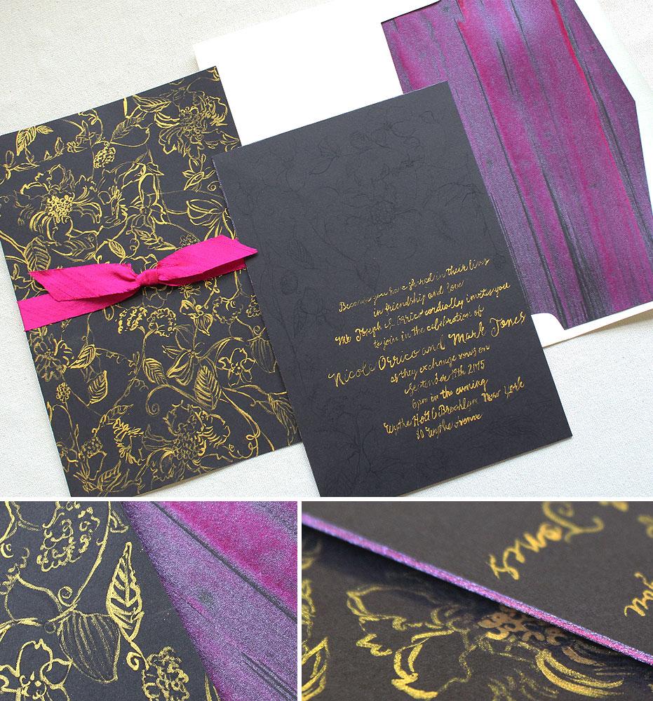 modern-foil-letterpress-wedding-invitation