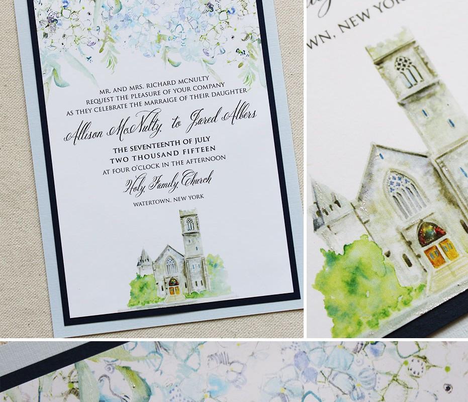 blue-hydrangea-wedding-invitation