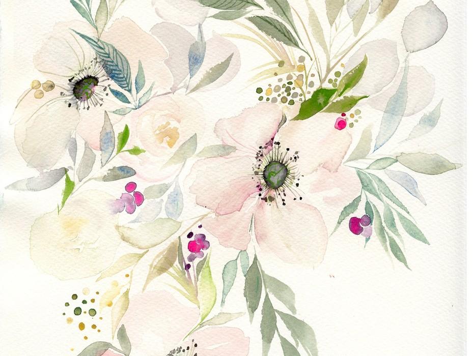 watercolor-anemone