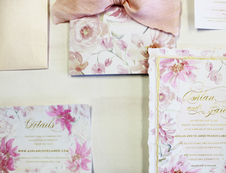 pink-peony-watercolor-and-foil-wedding-invitation