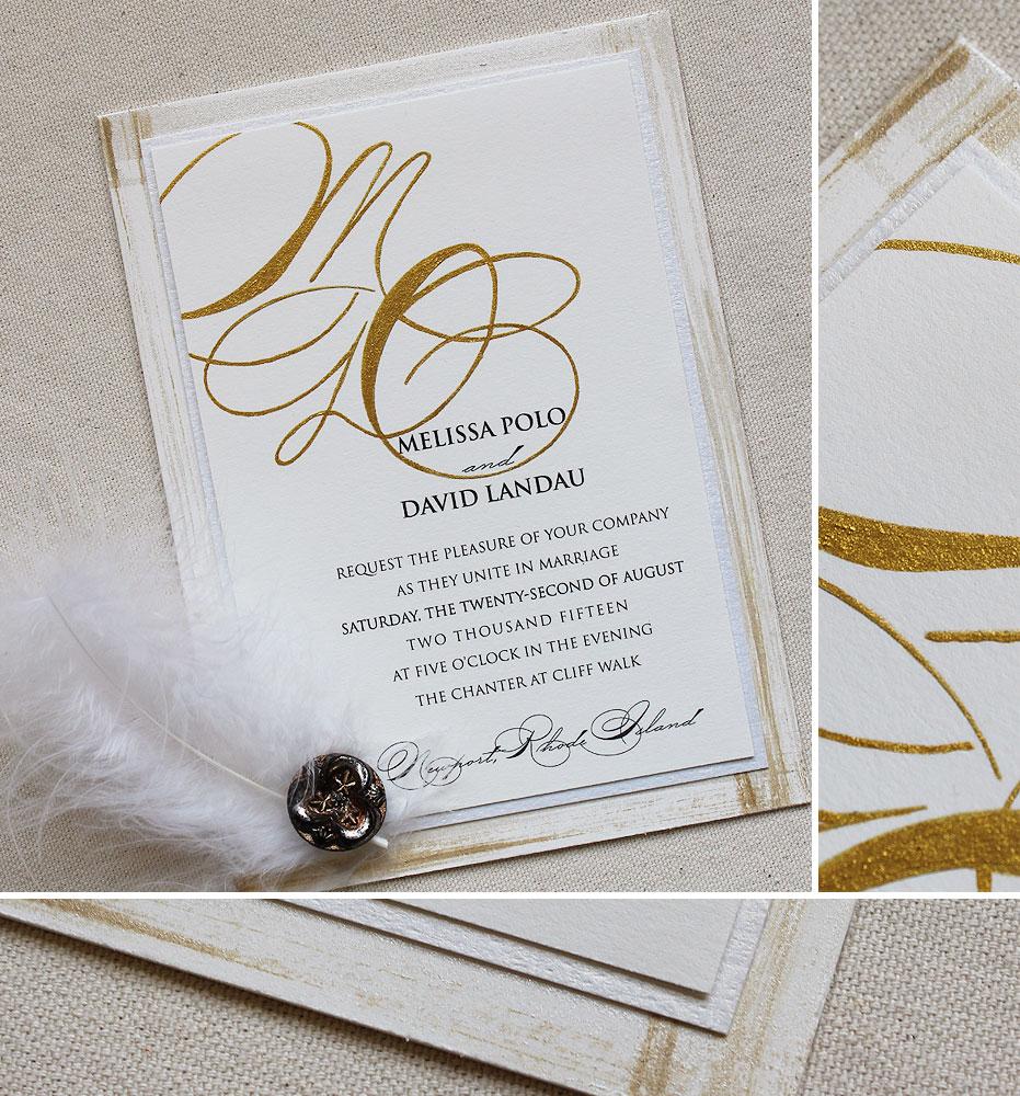 gold-foil-monogram-wedding-invite
