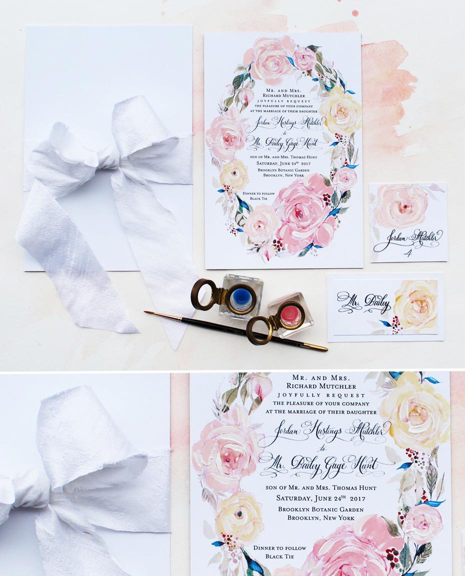 hand-painted-roses-wedding-invitation