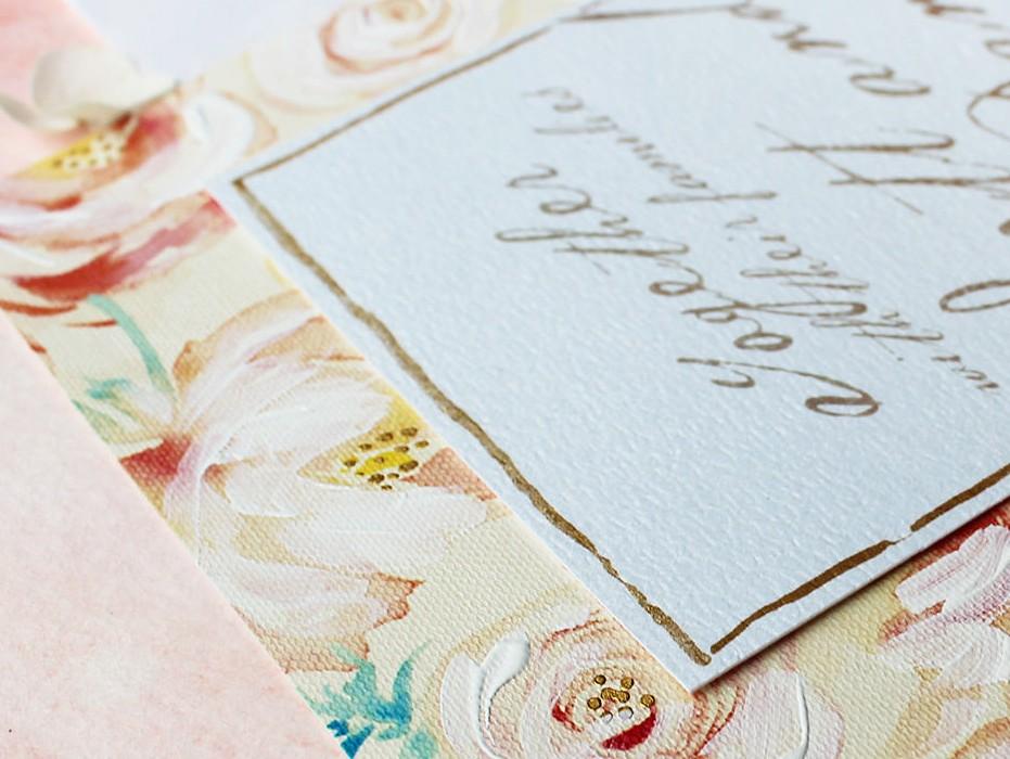 hand-painted-peach-flowers-wedding-invitation