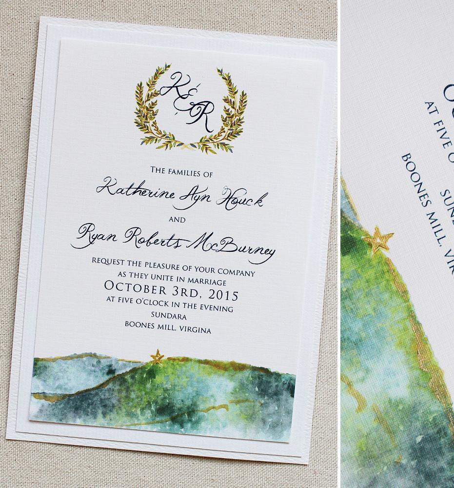 monogram-landscape-wedding-stationery