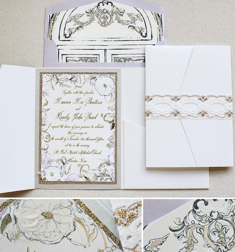 white-floral-wedding-invite