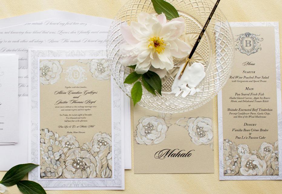 white-peony-wedding-invitation