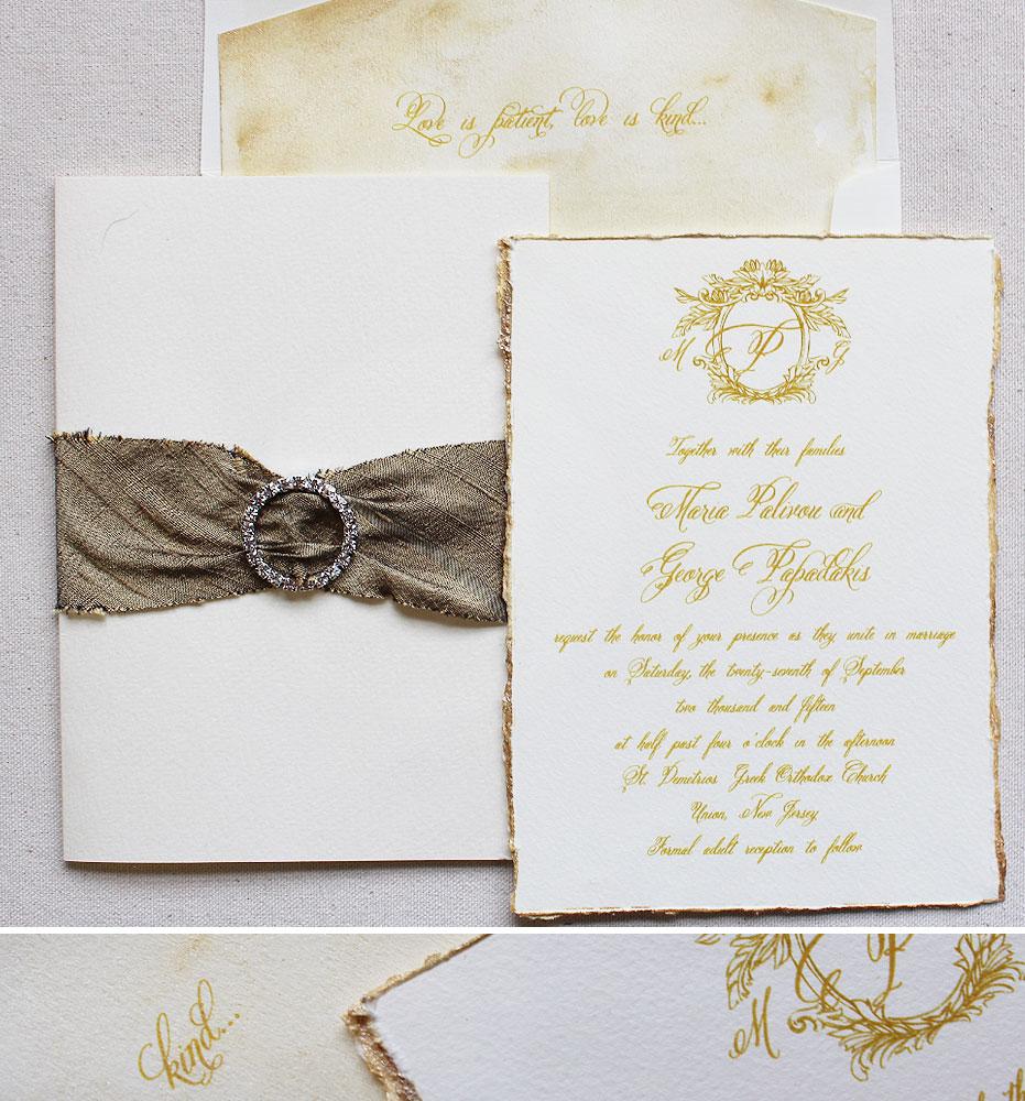 monogram-crest-wedding-invite