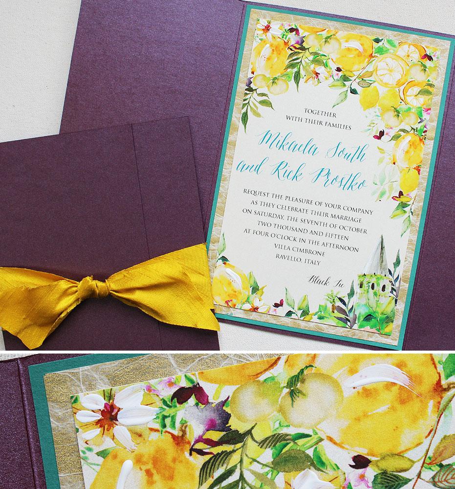 watercolor-lemon-wedding-stationery