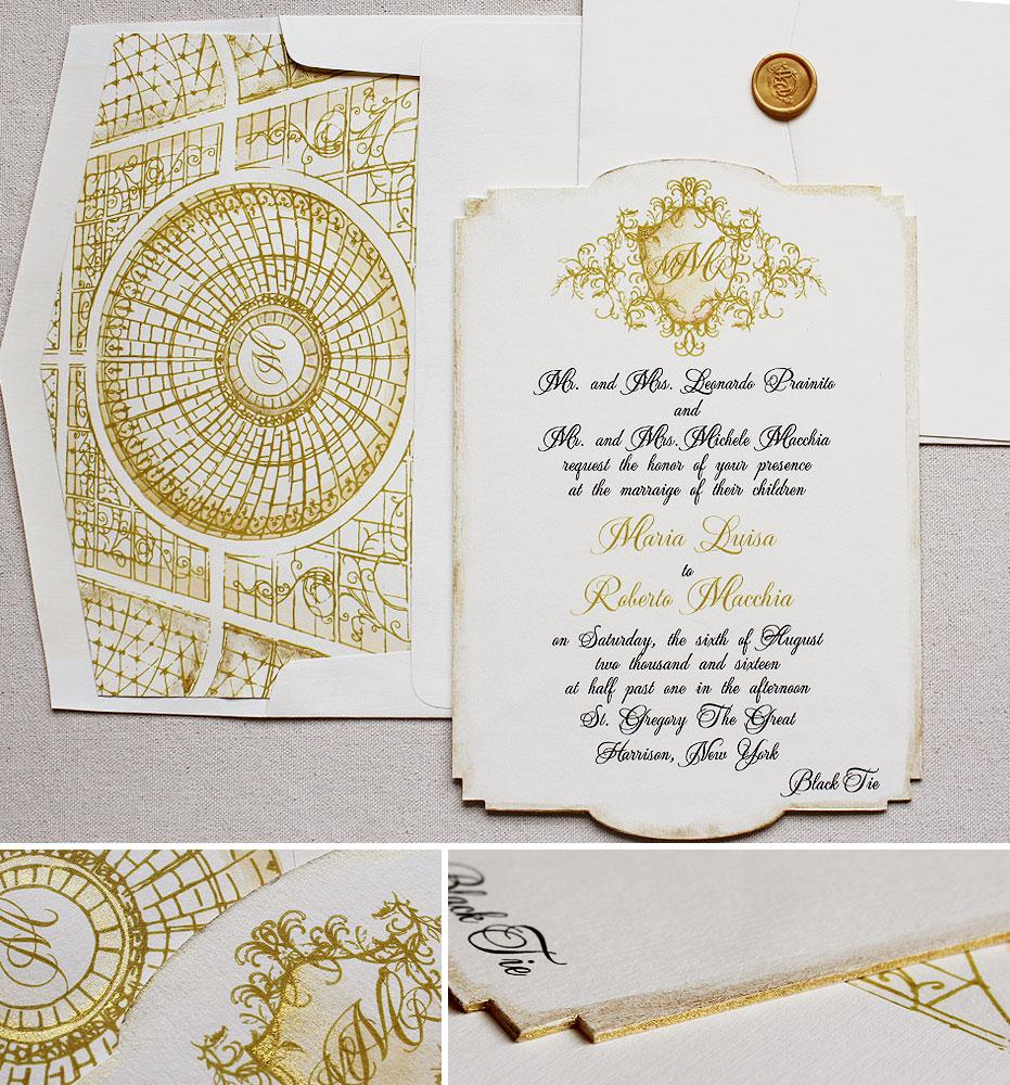 custom-crest-wedding-invite