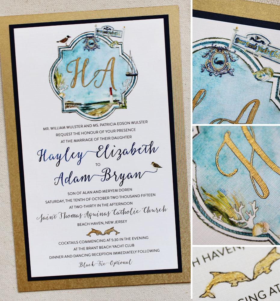 custom-crest-monogram-wedding-invite