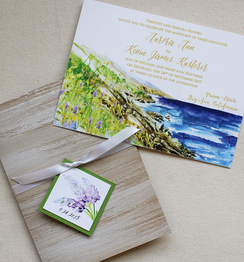 lavender-rustic-wedding-stationery