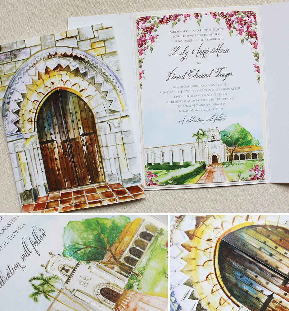watercolor-illustrated-wedding-invite
