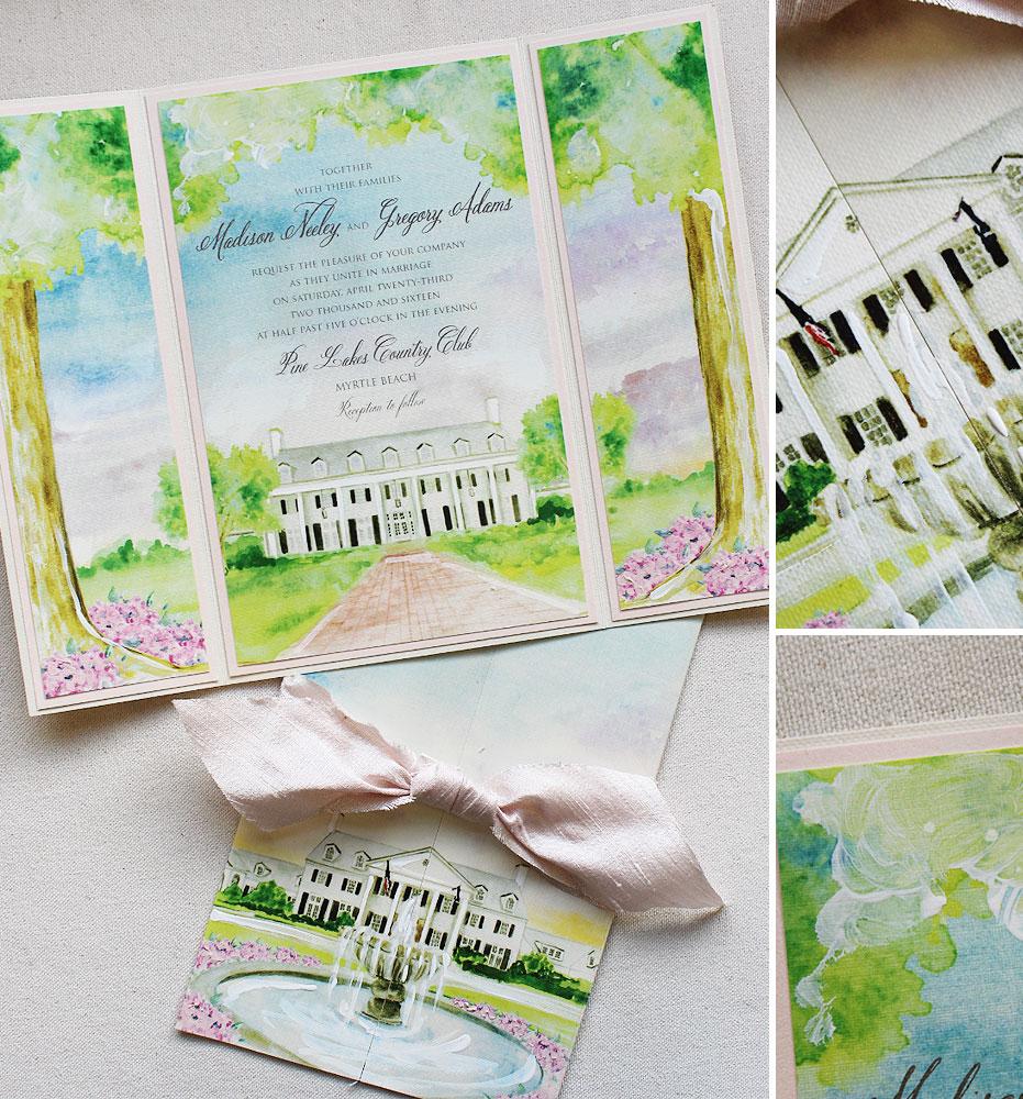 southern-wedding-invite