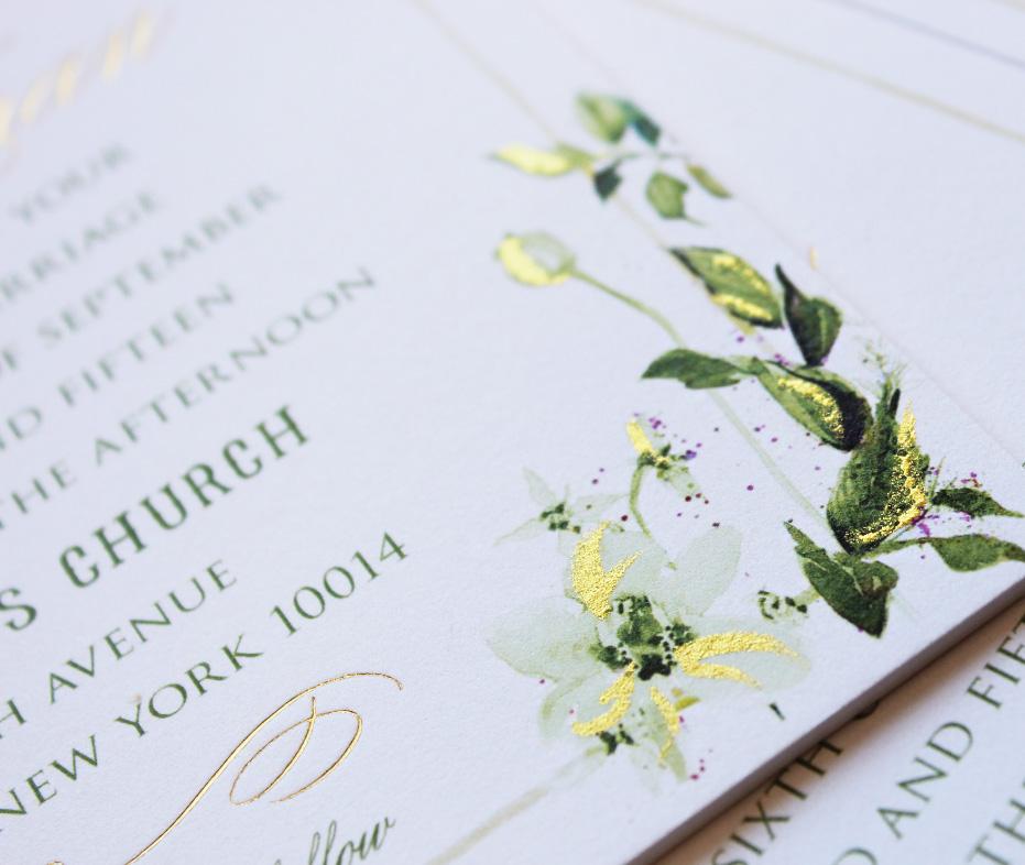 watercolor-foil-botanical-wedding-invitation