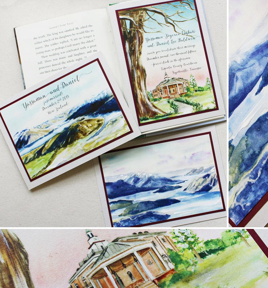 watercolor-mountain-wedding-invitation