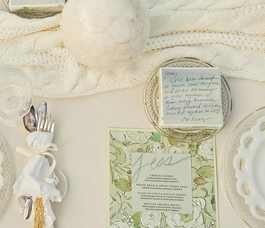 botanical-watercolor-wedding-menus