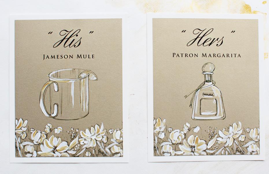 custom-wedding-drink-menus