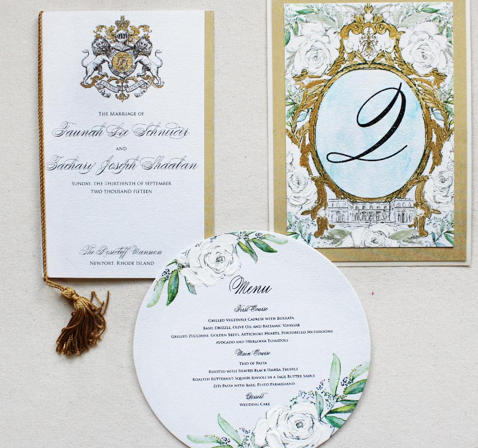 regal-newport-wedding-program-menu