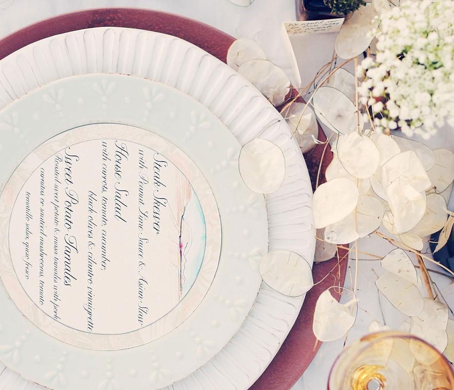utah-sky-watercolor-wedding-menus