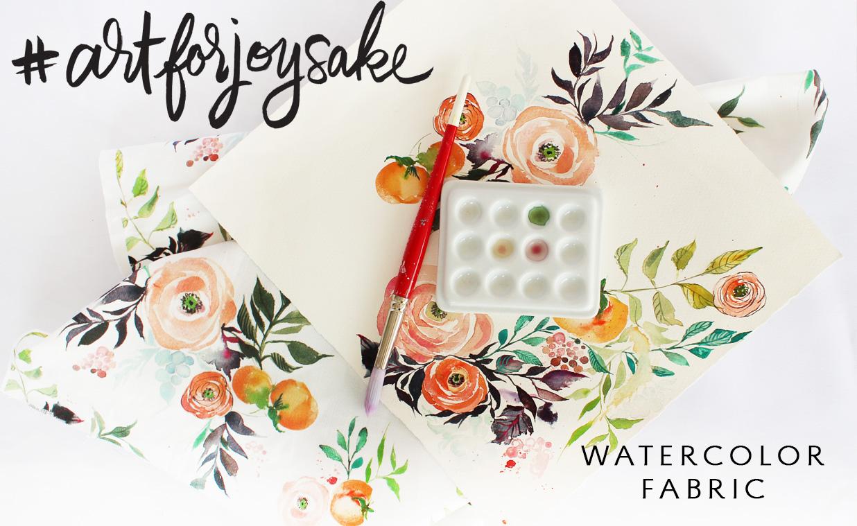 watercolor-fabric