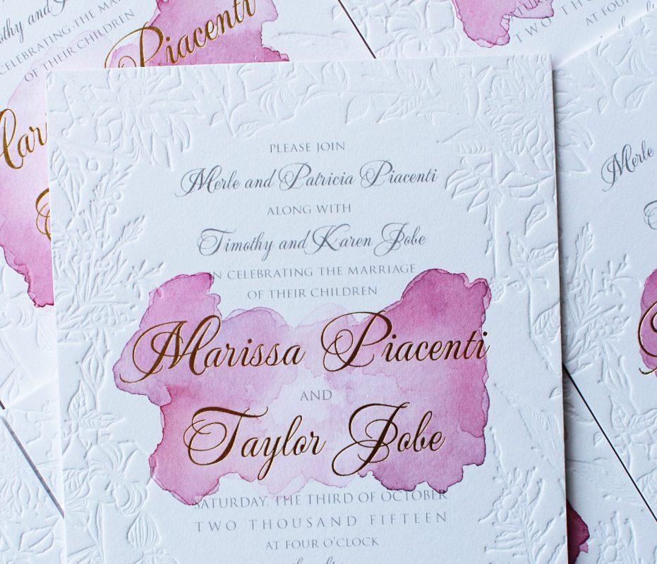 watercolor-rose-gold-blind-letterpress-wedding-invitation