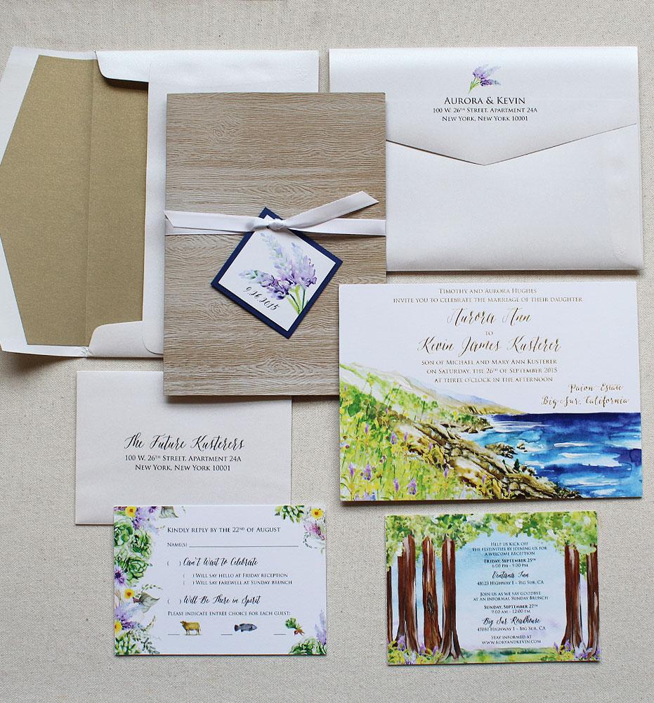 elegant-rustic-watercolor-wedding-stationery