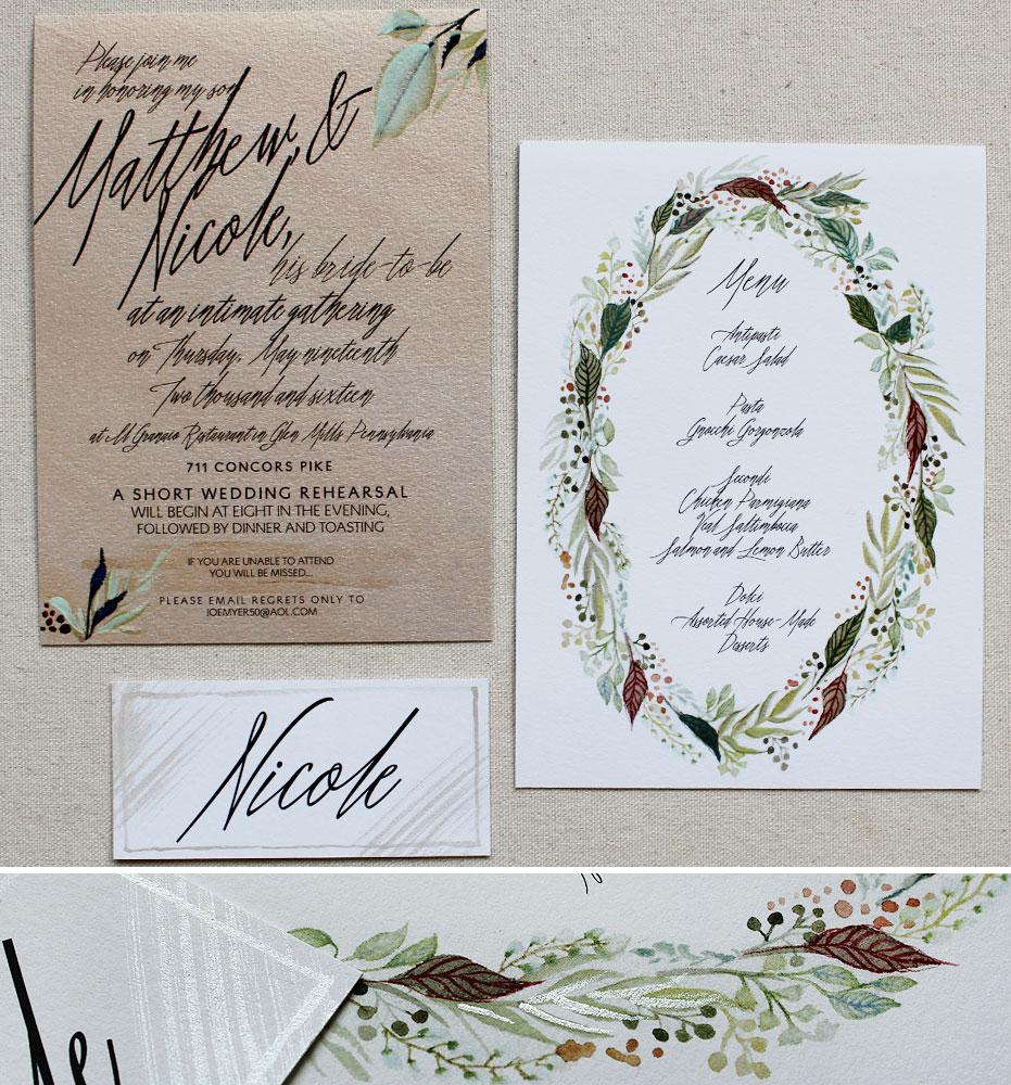 botanical-wreath-wedding-stationery