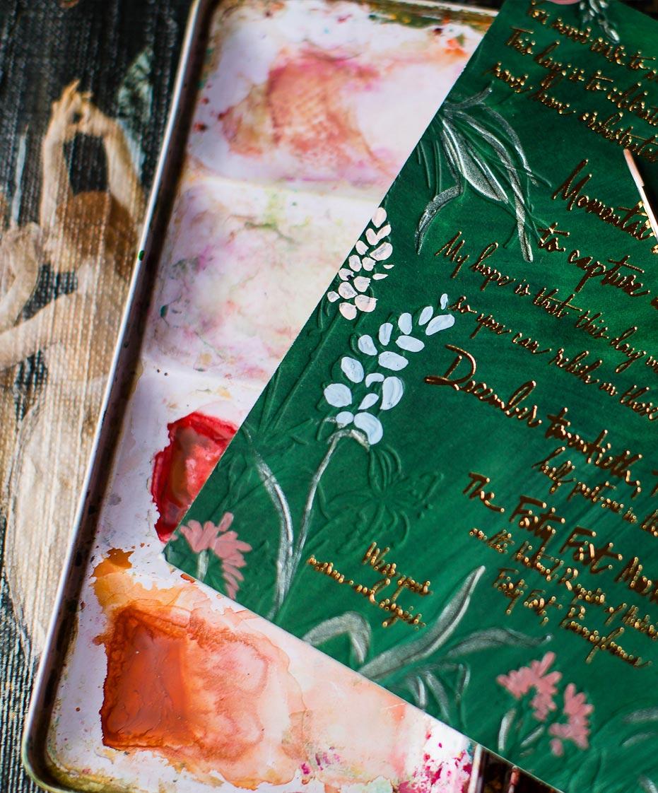 emerald-gold-foil-invite