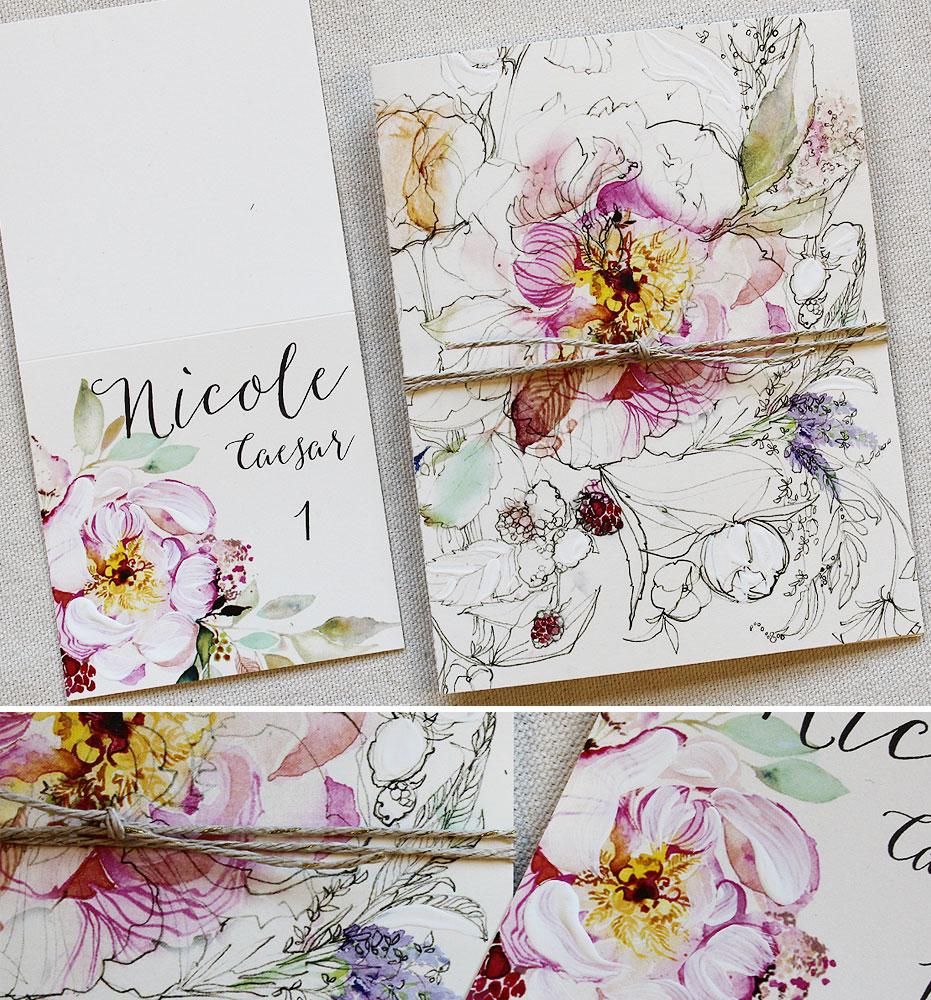 watercolor-floral-wedding-program