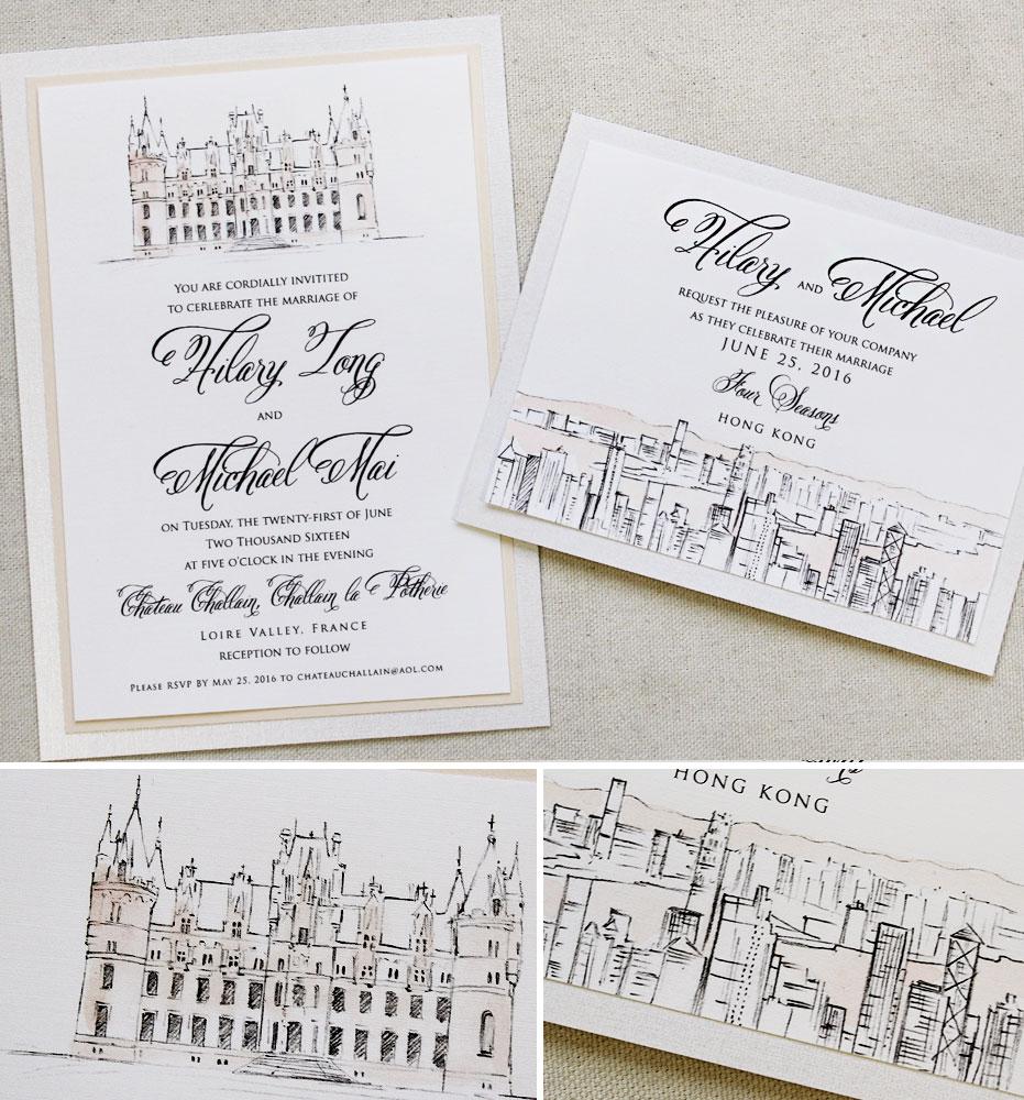 castle-wedding-stationery