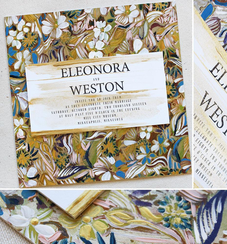 vintage-pattern-wedding-invitation