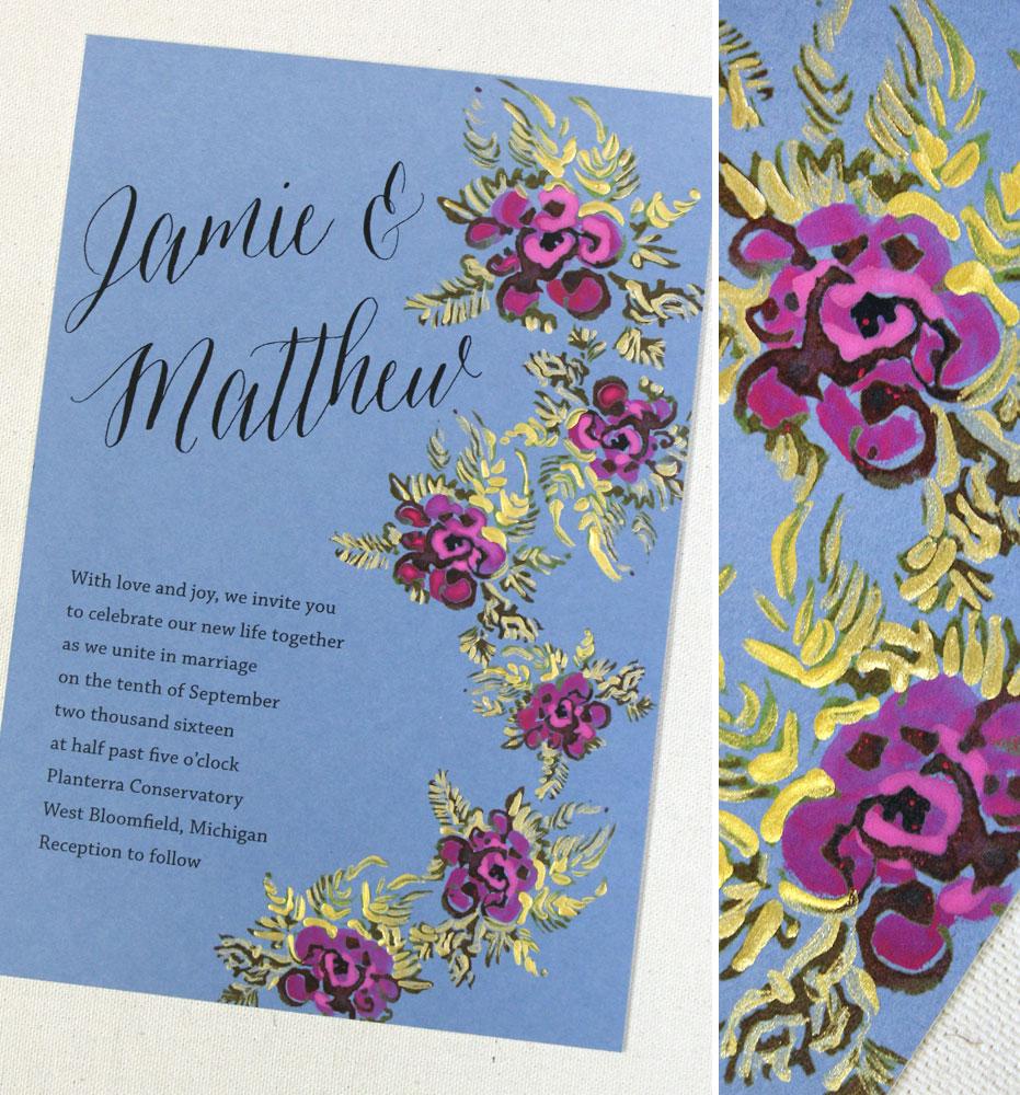 fuchsia-floral-wedding-invite