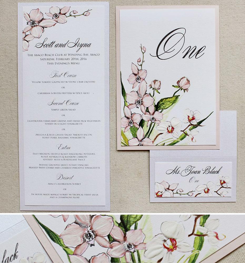 orchid-wedding-stationery