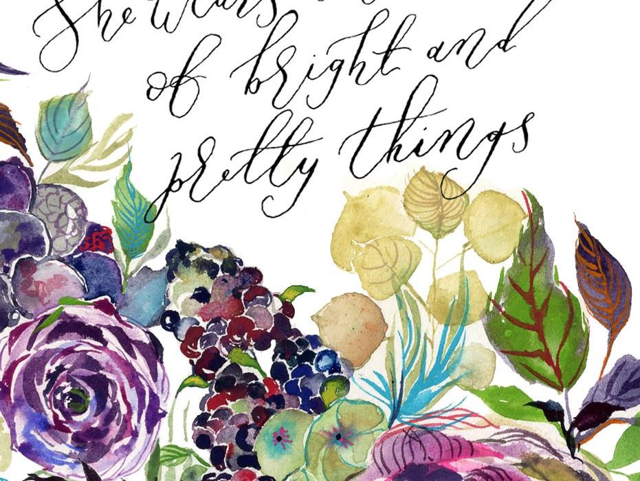 calligraphy-watercolor-florals