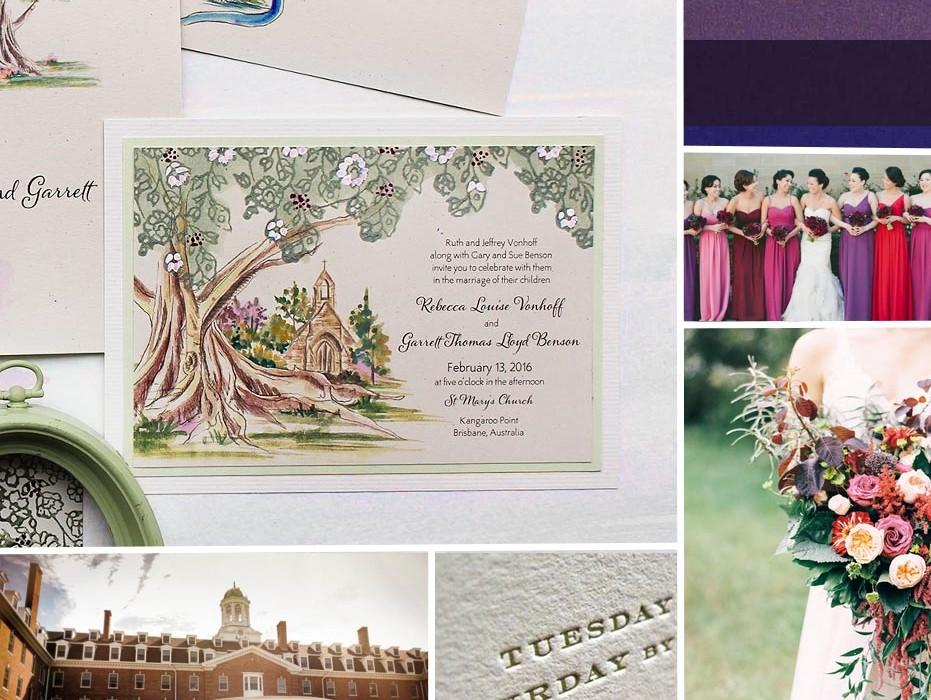 jewel-tone-wedding-invites