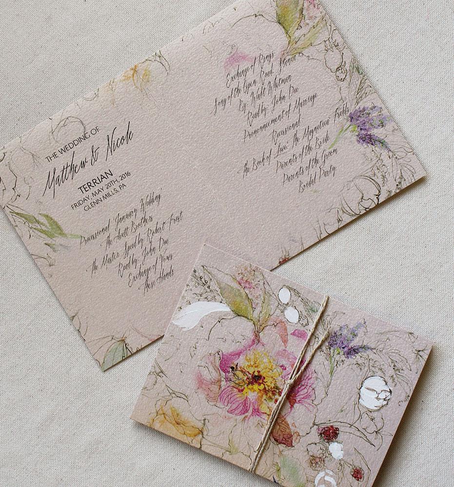 custom-wedding-programs