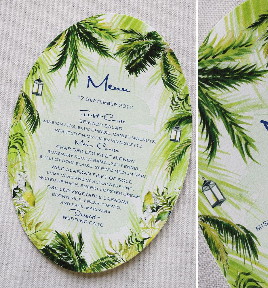 palm-wedding-menu