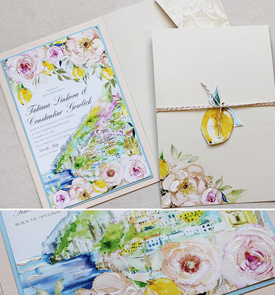 lemon-wedding-invitation