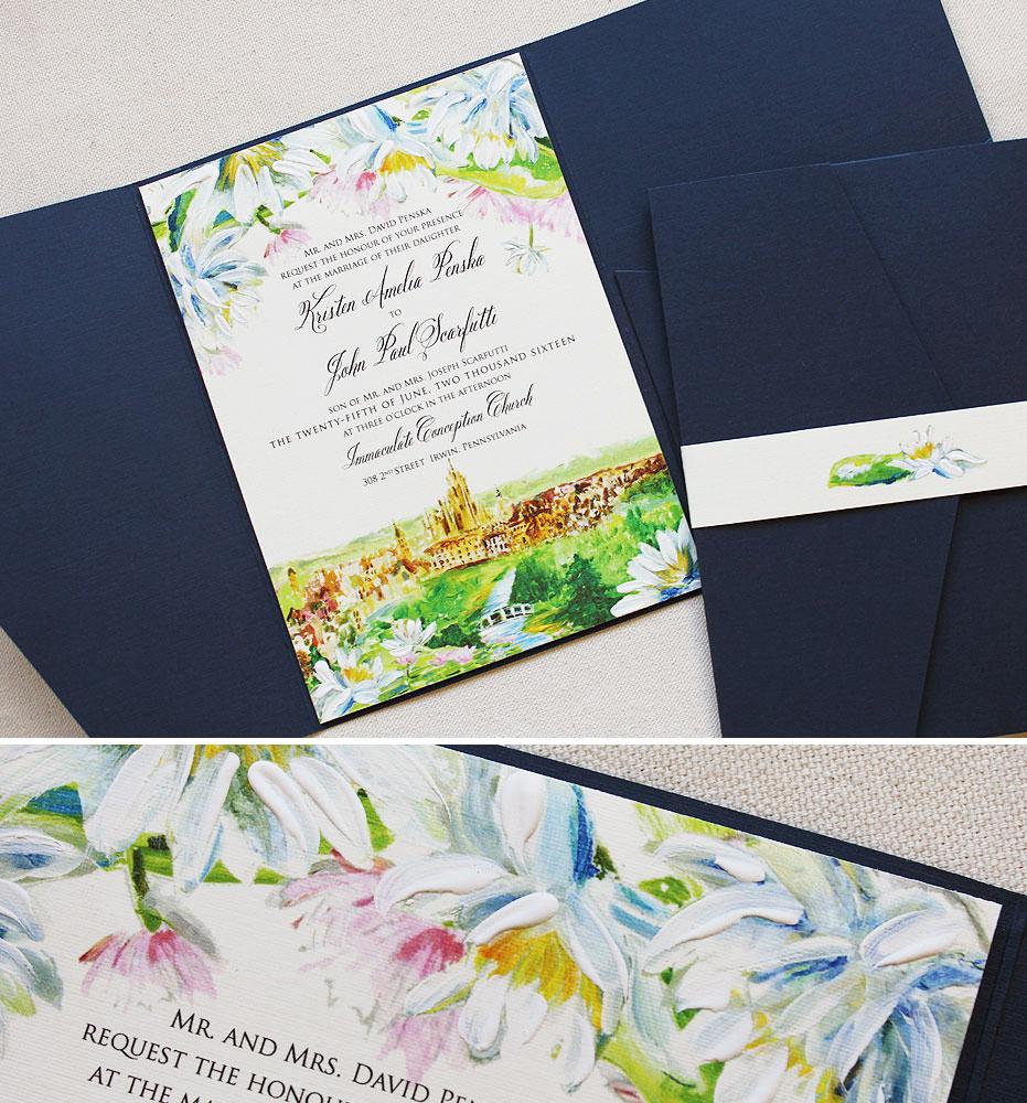 waterlily-wedding-invitation
