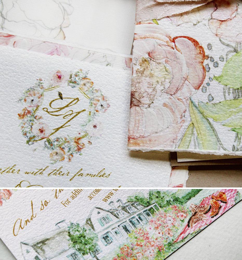 peony-wedding-invitations