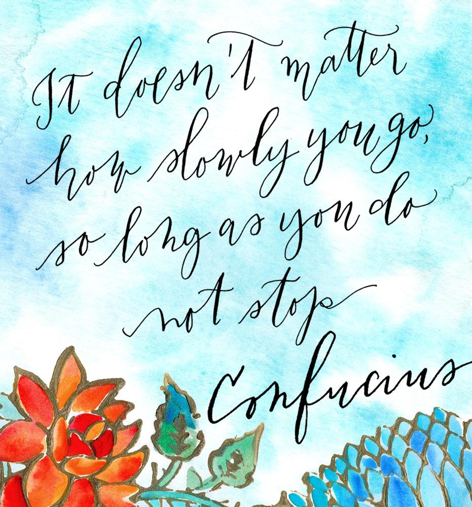 calligraphy-quote