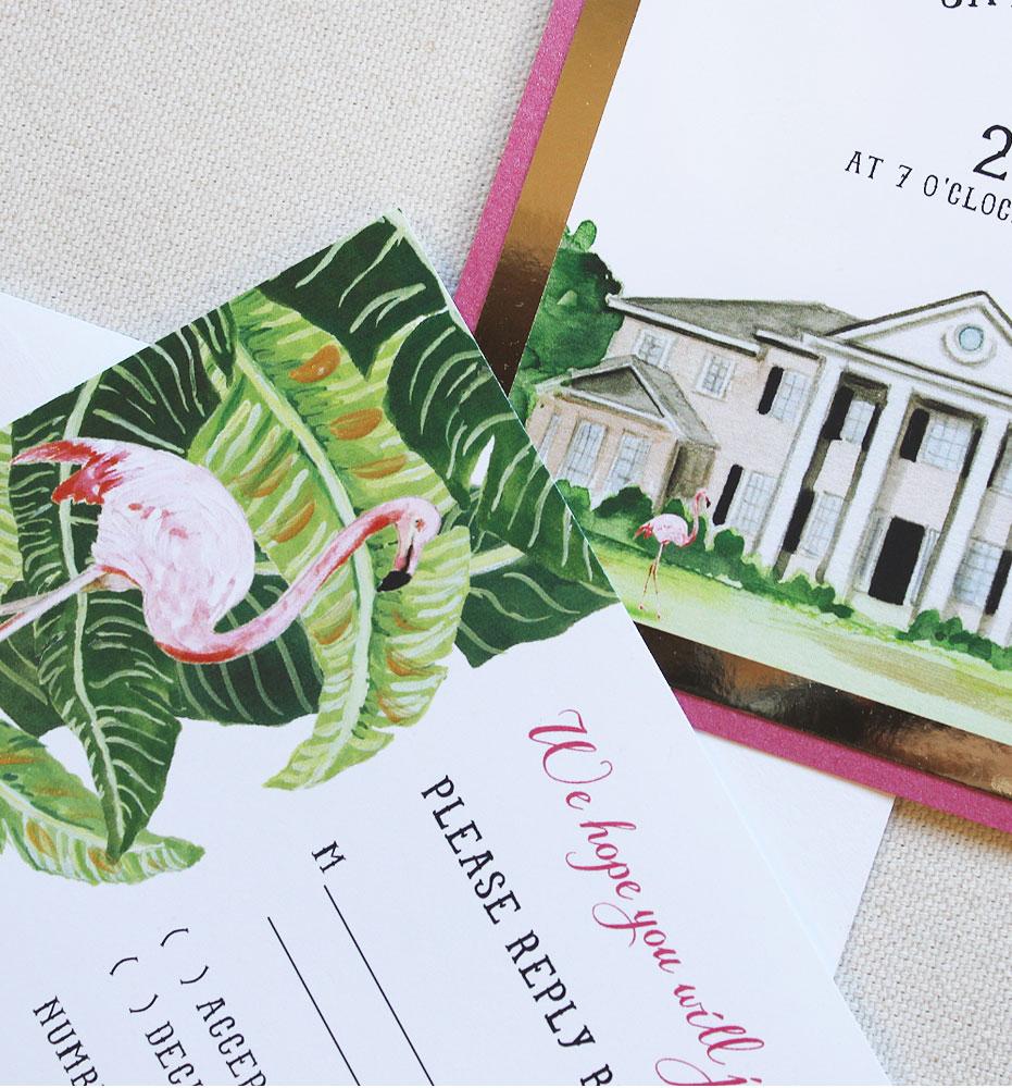flamingo-birthday-invitations