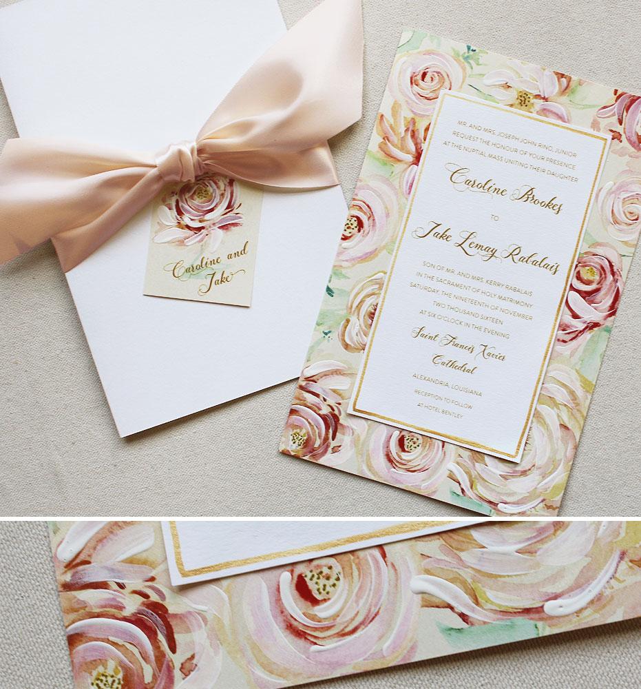 floral-pattern-wedding-stationery
