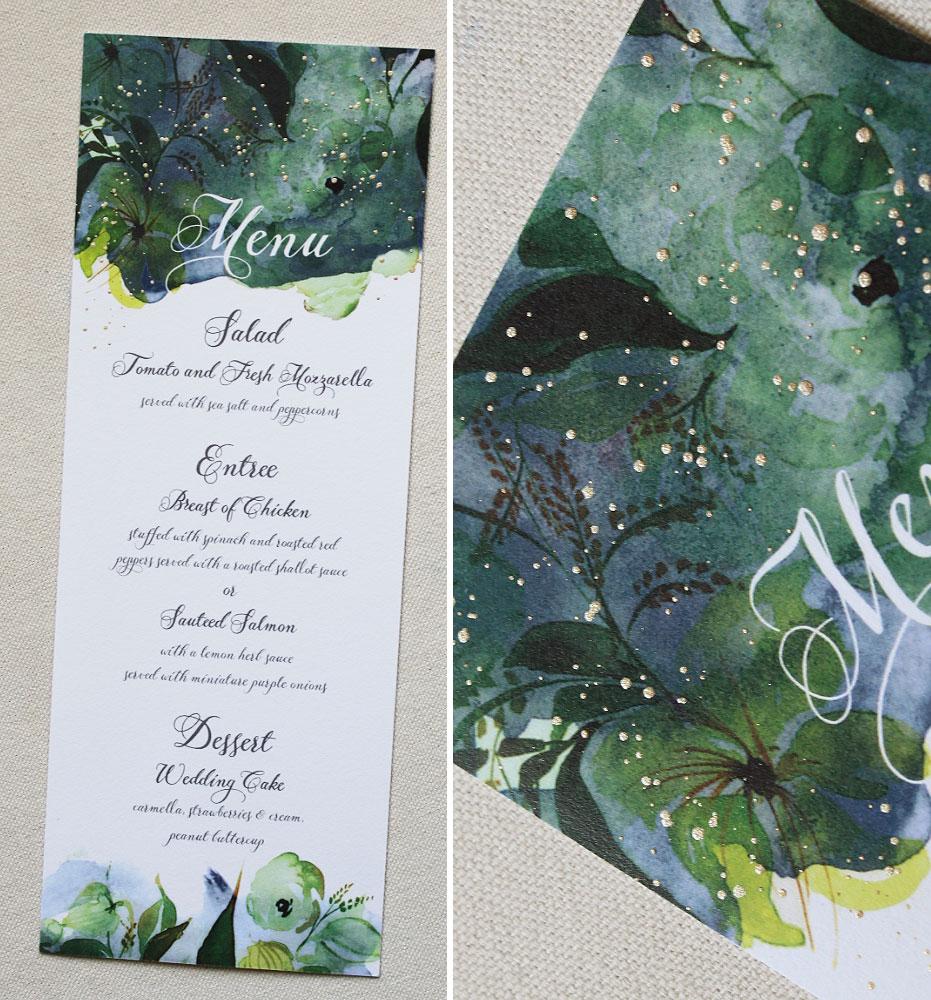 custom-bridal-shower-menu
