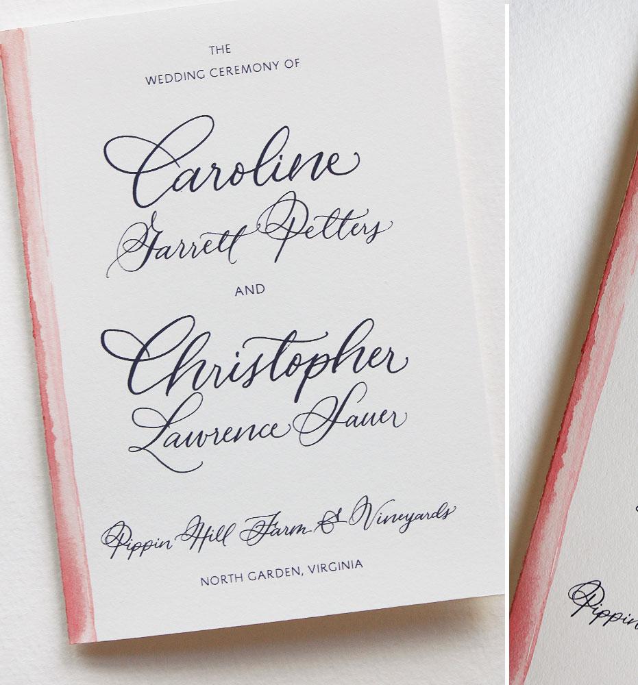 custom-wedding-program