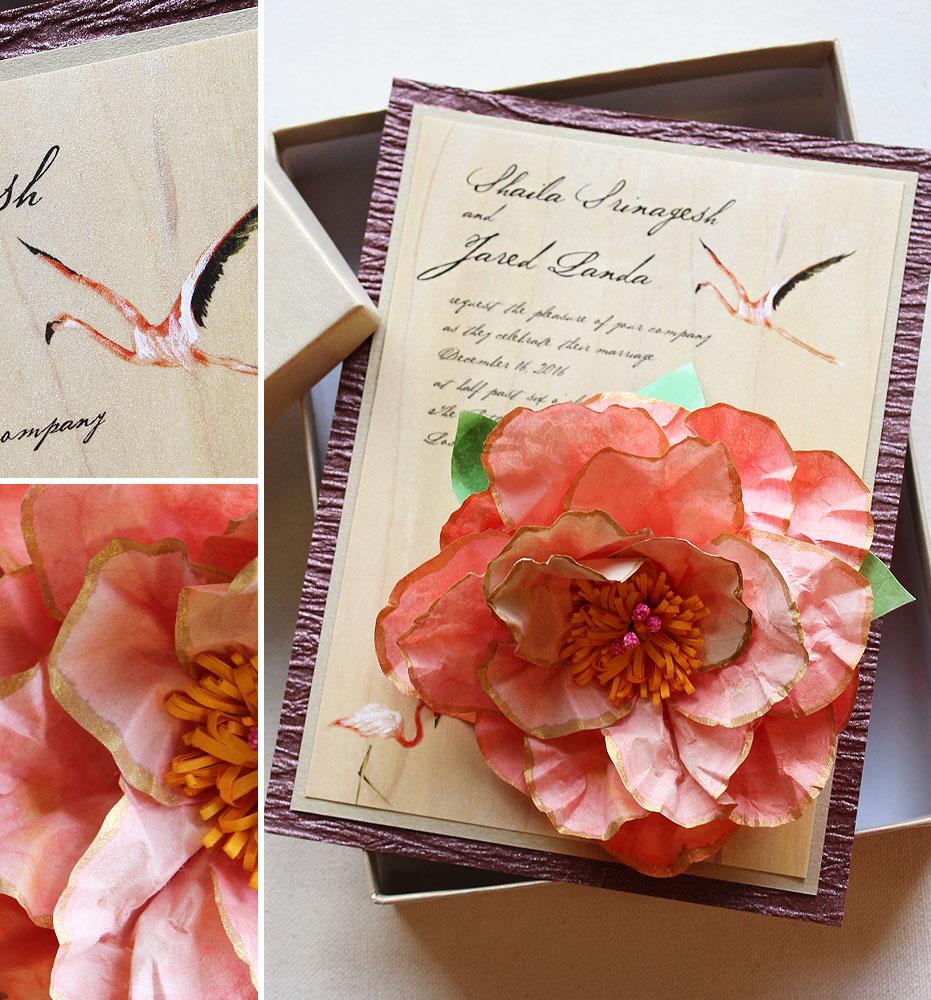 lotus-wedding-invitation