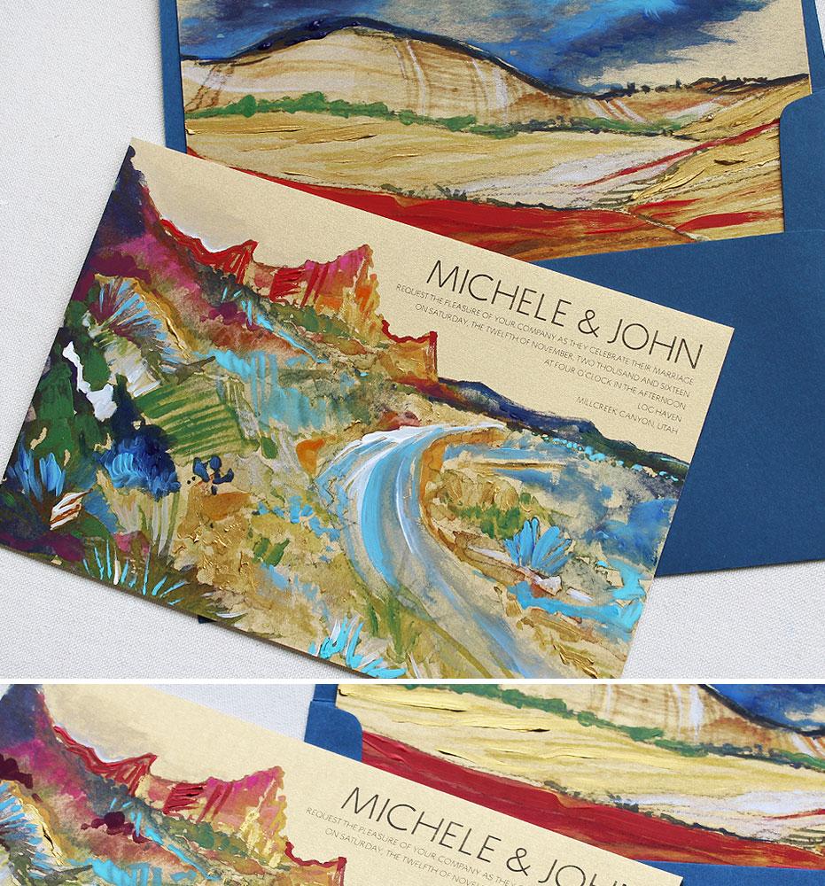 hand-painted-landscape-wedding-invitation