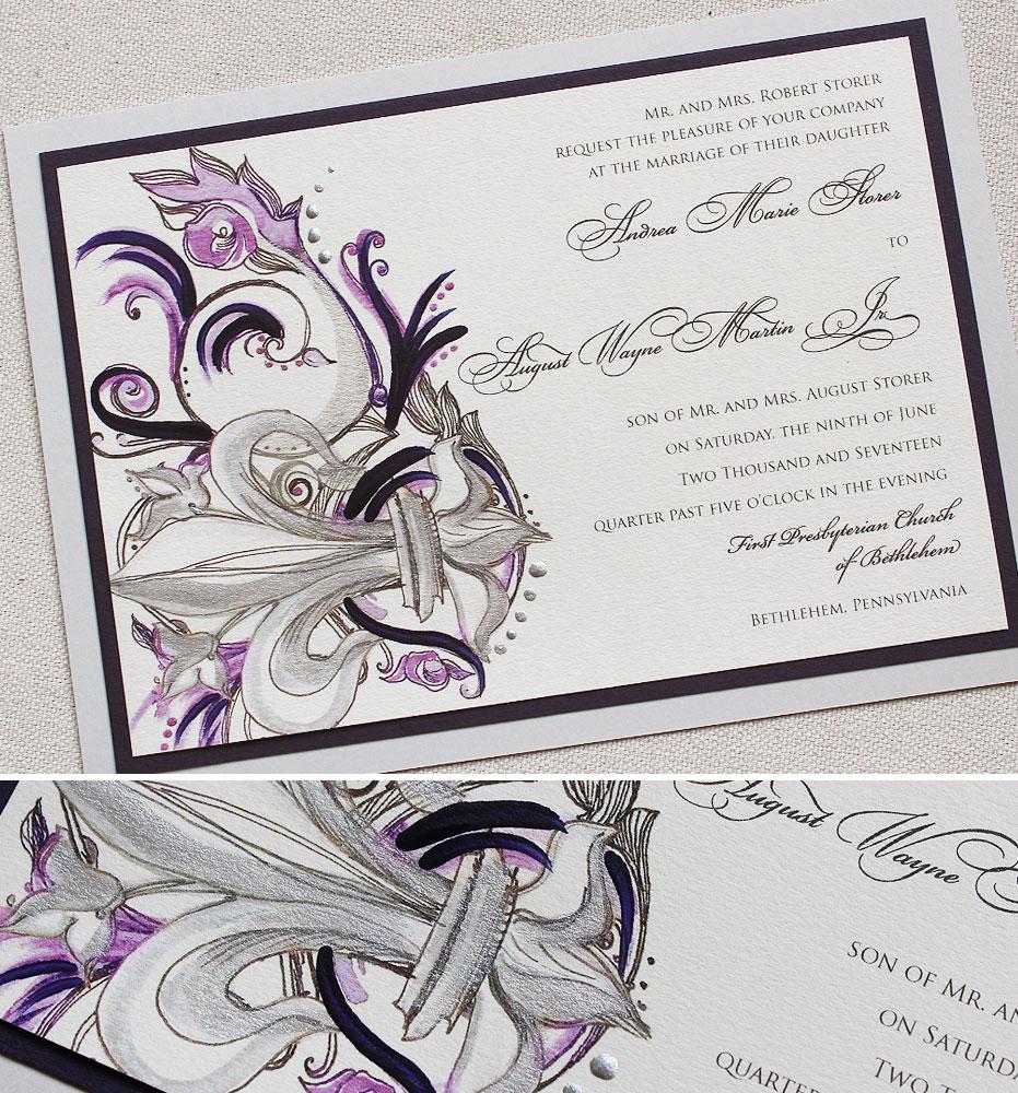 fleur-de-lis-wedding-invite