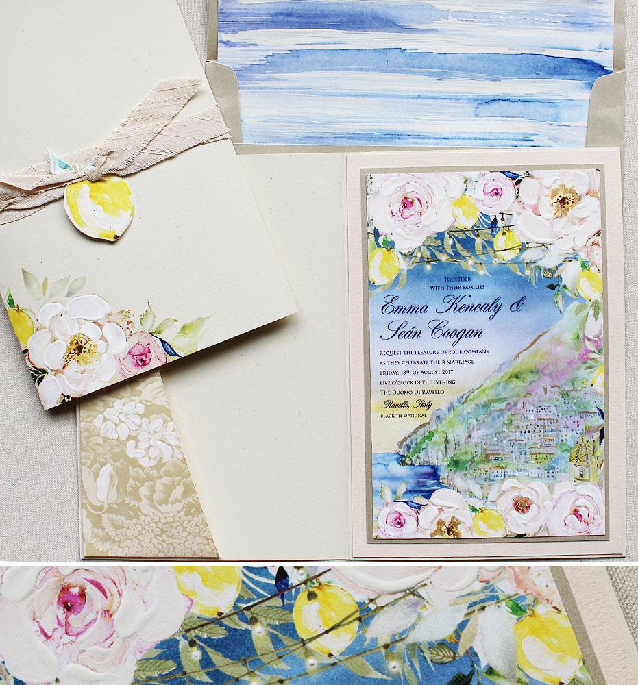 lemon-wedding-invite