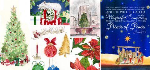 christmas-watercolor-artwork